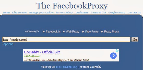 THE FACEBOOK PROXY