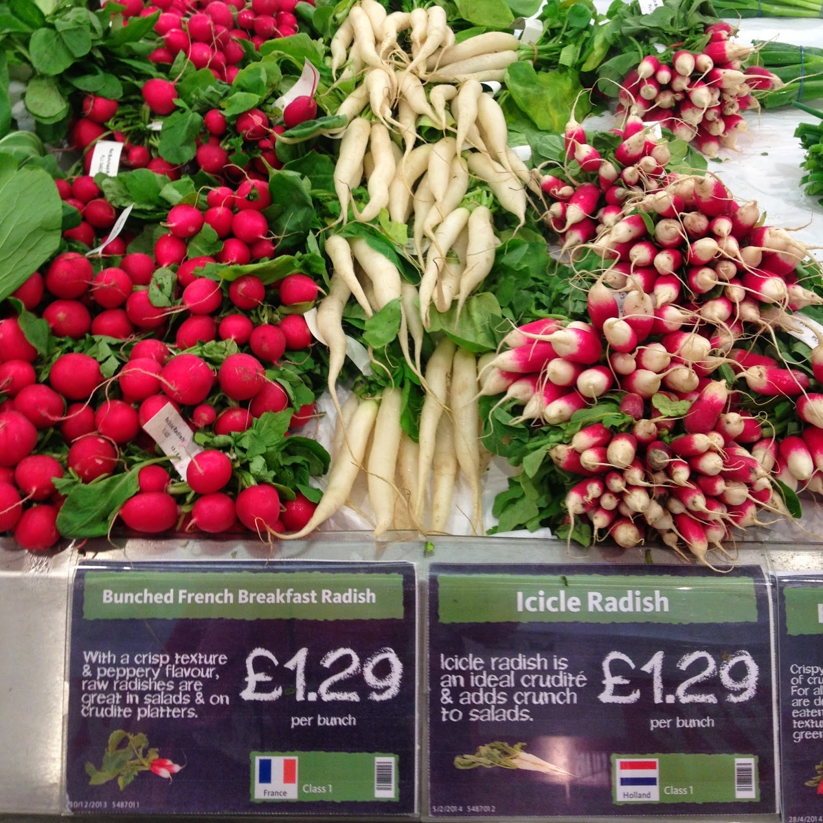 Unusual vegetables Morrisons