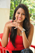 Swetha Jadhav glam pics in red top-thumbnail-7