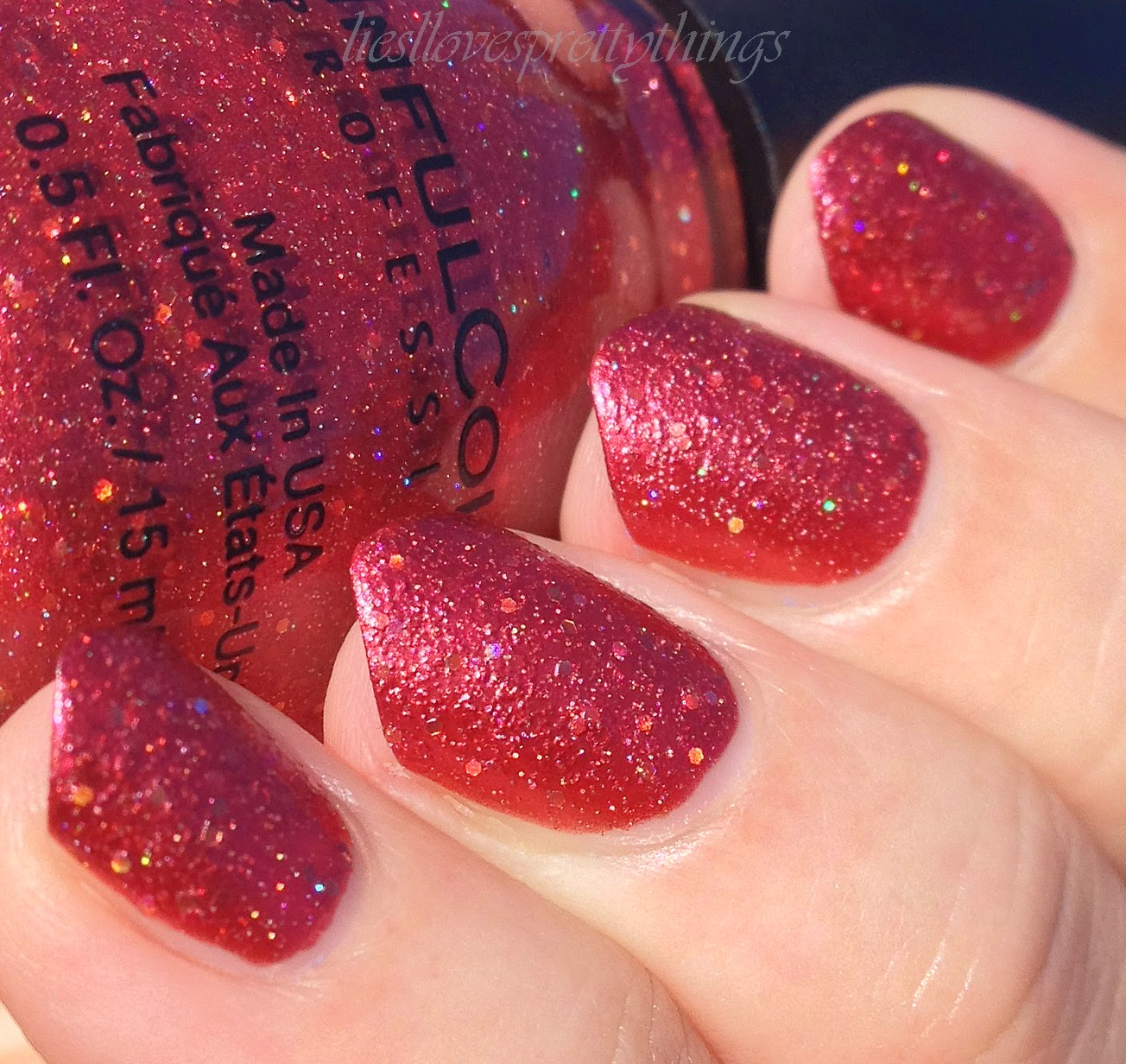 Sinful Colors Hot Chili-- Summer 2014 swatch