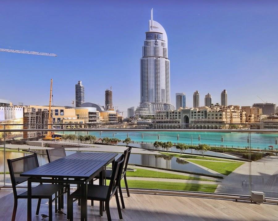On Top Of The World Burj Khalifa Life Is An Absurd Journey