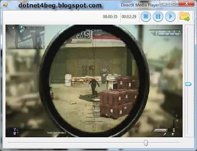 c#-vb-dotnet-directx mediaplayer