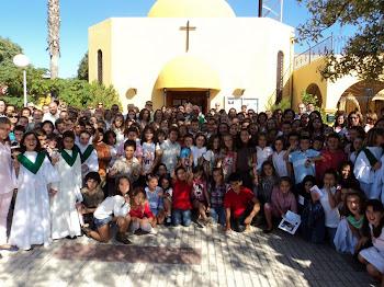 Santa tecnología, la historia de San García Abad, una parroquia con su espacio en la red
