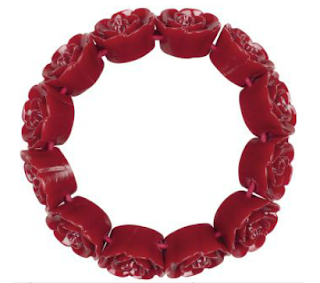 Rose Bus Resin Bracelet