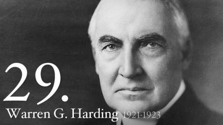 WARREN G. HARDING 1921-1923