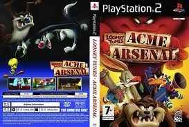 Download - Looney Tunes - Acme Arsenal - PS2 - ISO