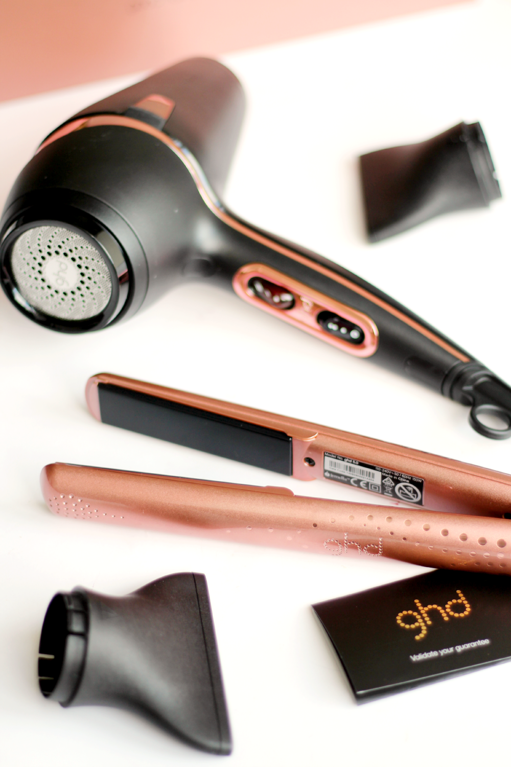 GIVEAWAY Win The Rose Gold GHD Set ENDED The Lovecats Inc