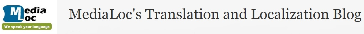 MediaLoc's Translation and Localization Blog
