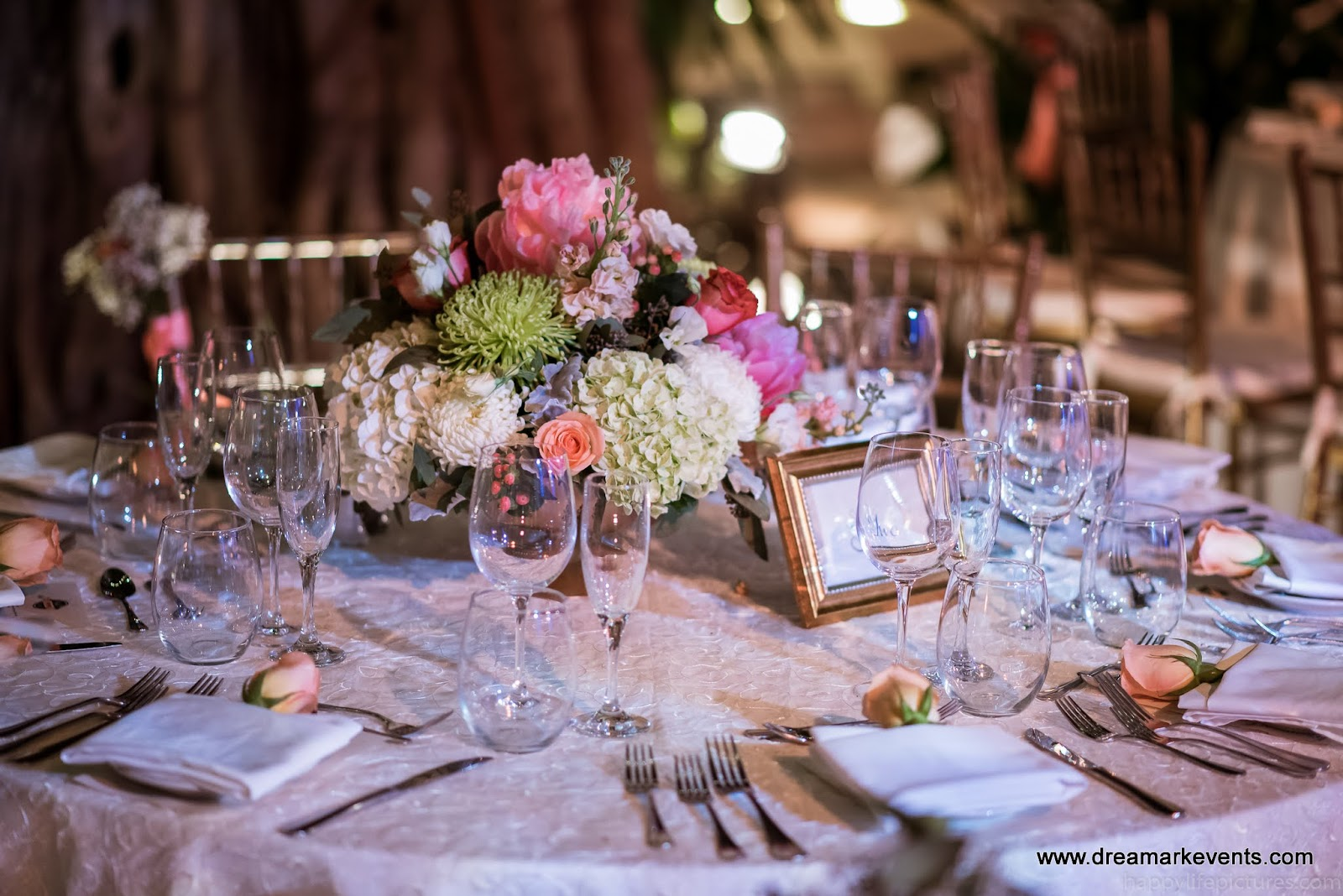 DreamARK Events Blog: Rustic Style Wedding decoration