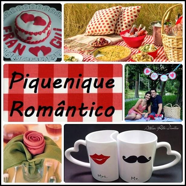 ideias para um piquenique romântico