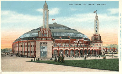 St. Louis Arena photo circa 1940's or 1950's