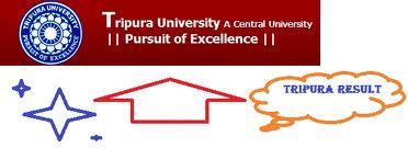Tripura University Results 2012 - Result latest