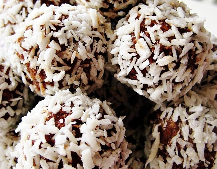 chokladbollar med stevia