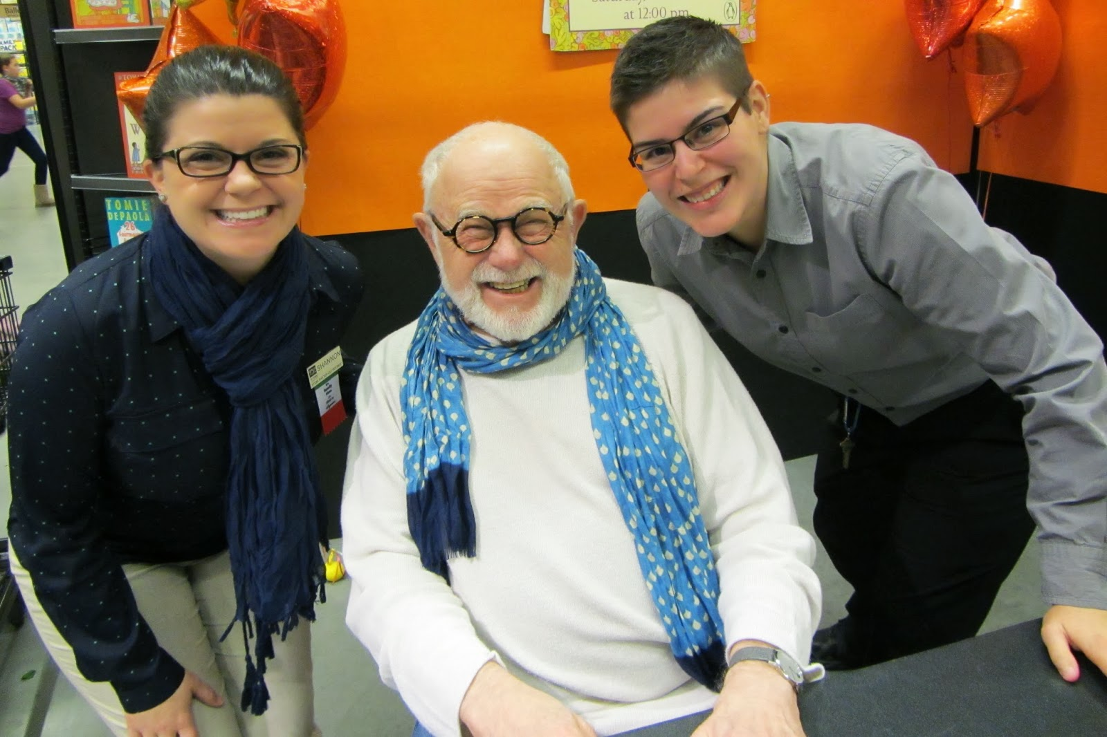 the official tomie depaola blog what do milk diapers liquid plumbr and tomie depaola have in common they could all be found yesterday at wegmans - Wegmans Asset Protection