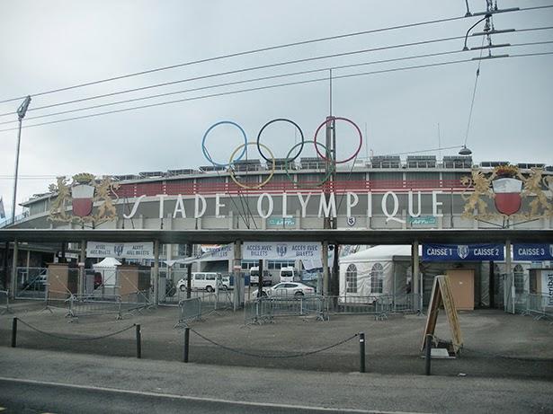 Stade Olympique (Olympic Stadium) in Lausanne, Switzerland