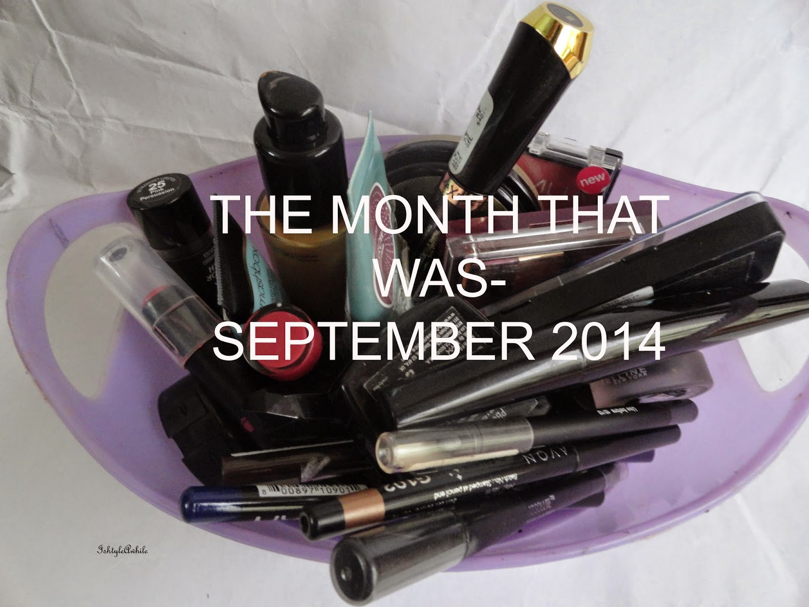 The month that was- September 2014 image