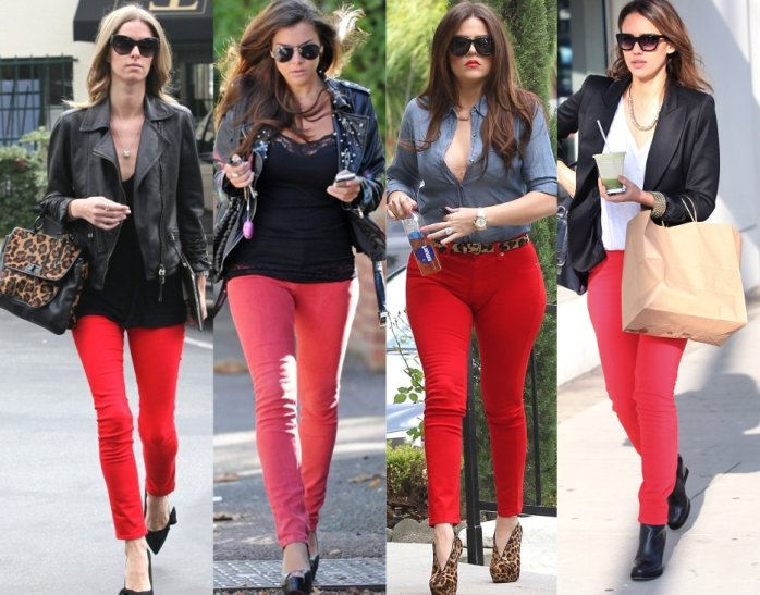 What Goes With Red what goes with red jeans | jeans to