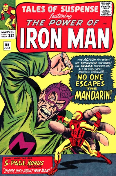 Tales of Suspense #55, Iron Man vs the Mandarin