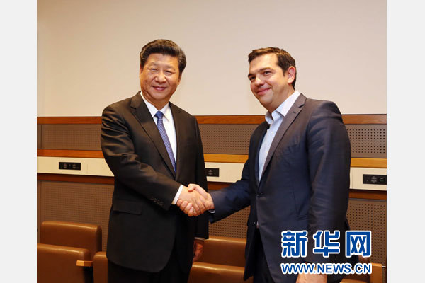 Alex Tsipras and President Xi are gay