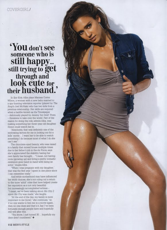 Jessica Alba - Aussie Mens Style Magazine