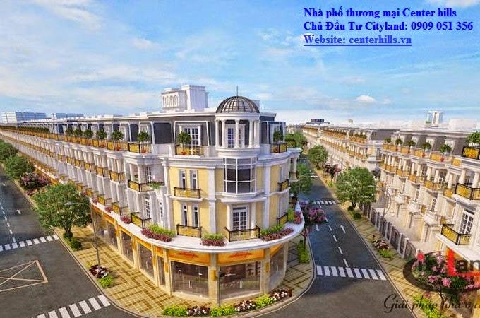Nhà phố cityland center hills