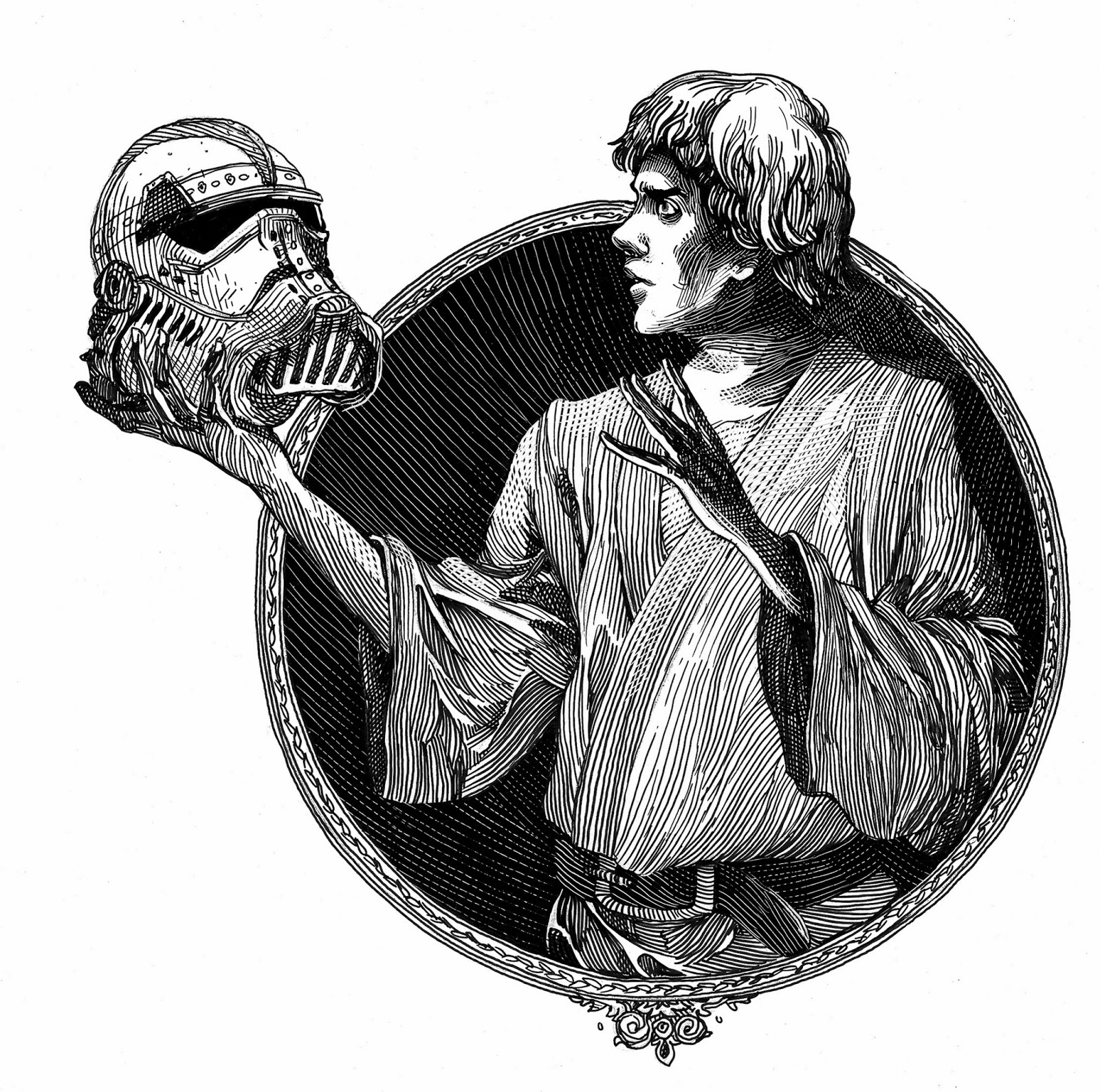 Luke Skywalker in Ian Doescher's William Shakespeare's Star Wars