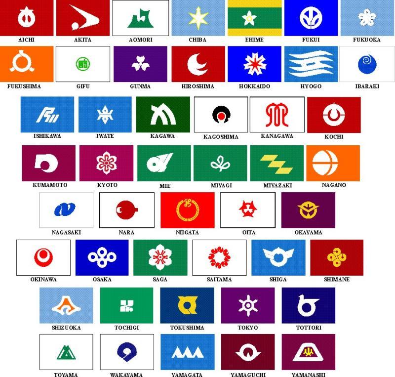 Bendera Prefektur Jepang