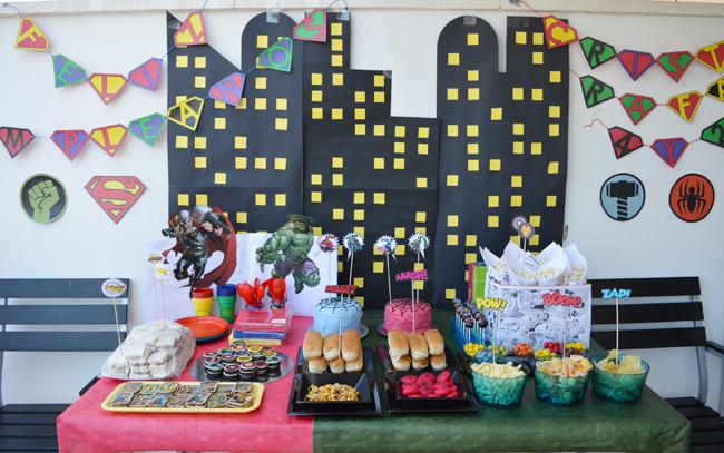 Mcompany style sorteo de kit de fiesta superh roes y - Cumple 2 anos decoracion ...