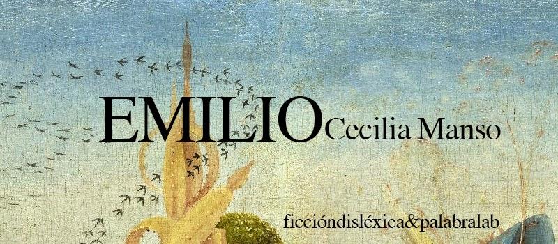 fragmento del cuadro El Jardín de las delicias del pintor el bosco con el título de la obra Emilio de la escritora de cuentos cecilia manso rodas