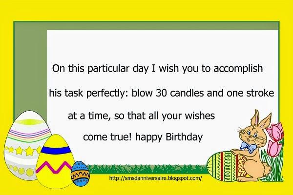SMS pour dire joyeux anniversaire
