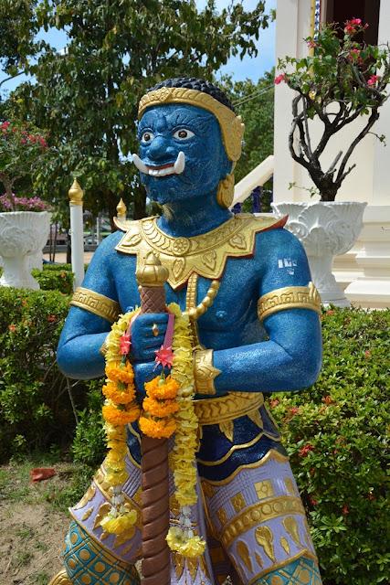 Wat Karon Phuket blue devil