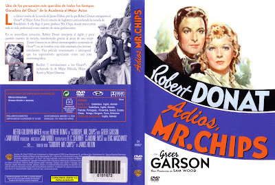 Caratula, cover, dvd: Adiós, Mr. Chips | 1939 | Goodbye Mr. Chips
