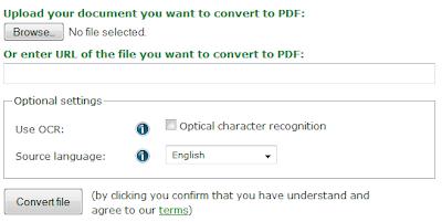 5 PDF Converter Online Tools - online-convert