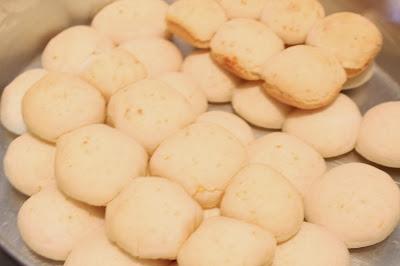 pão de queijo com creme de leite Mococa