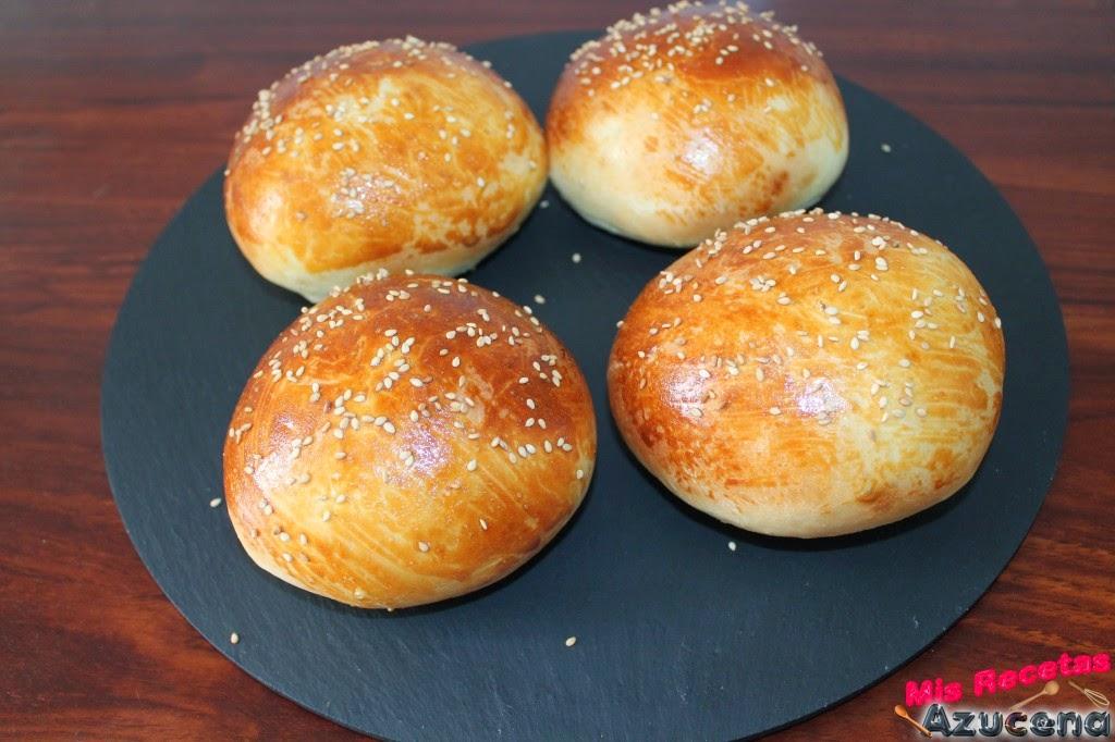 Pan de Hamburguesa.