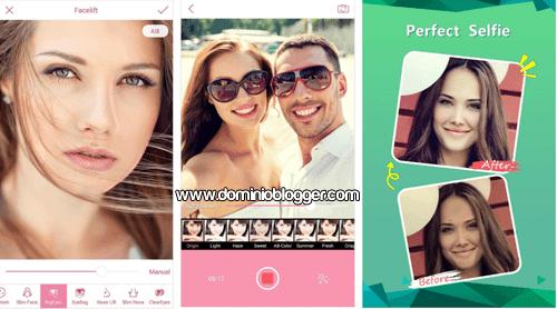 Ponte bella con la aplicacion InstaBeauty para Android