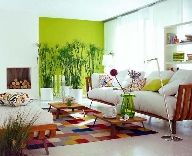 decorar sala branca : Decorar salas com pontos de cor ~ Decora??o e Ideias ...