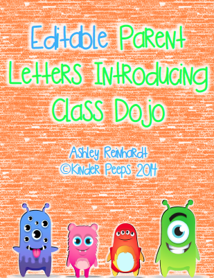 not using a clip chart systemusing class dojo this year you can click the image below to purchase my editable parent letters introducing class
