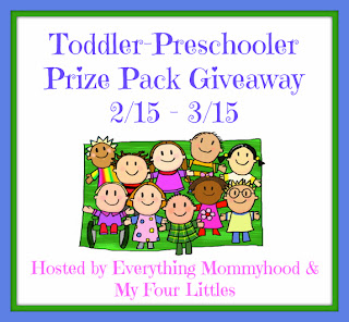 ToddlerPreschoolerGiveaway Preschooler Prize Pack Giveaway! (Feb. 15th   March 15th)