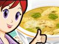 Jugar a Cocina con Sara: pollo con pasta