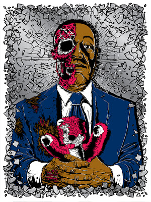 Breaking Gifs Limited Edition Breaking Bad Screen Prints - Gus by Anthony Petrie