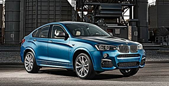 2016 BMW X4 M40i Arrives Next February at BMW Dealers