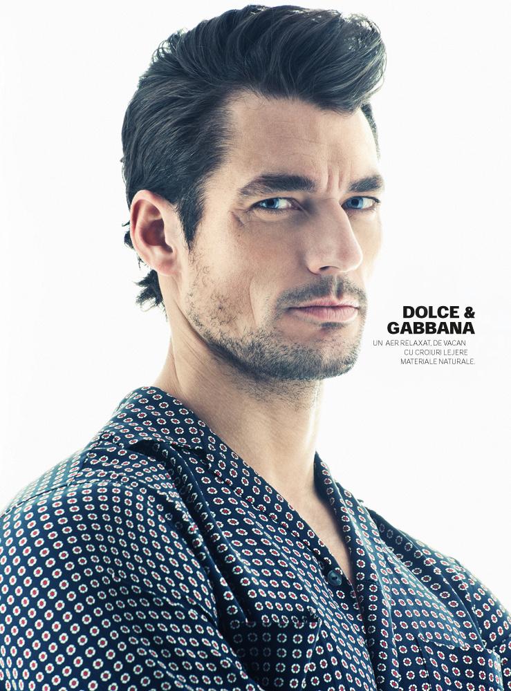 David Gandy -Source-: DAVID GANDY COVERS GQ ROMANIA