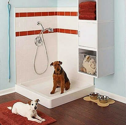 kamar mandi hewan peliharaan anjing dan kucing