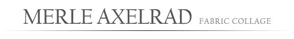 Merle Axelrad Studio News