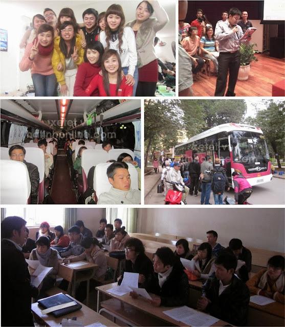 trien khai Chương trình xe tết phục vụ đồng hương miền trung năm Giáp Ngọ 2014