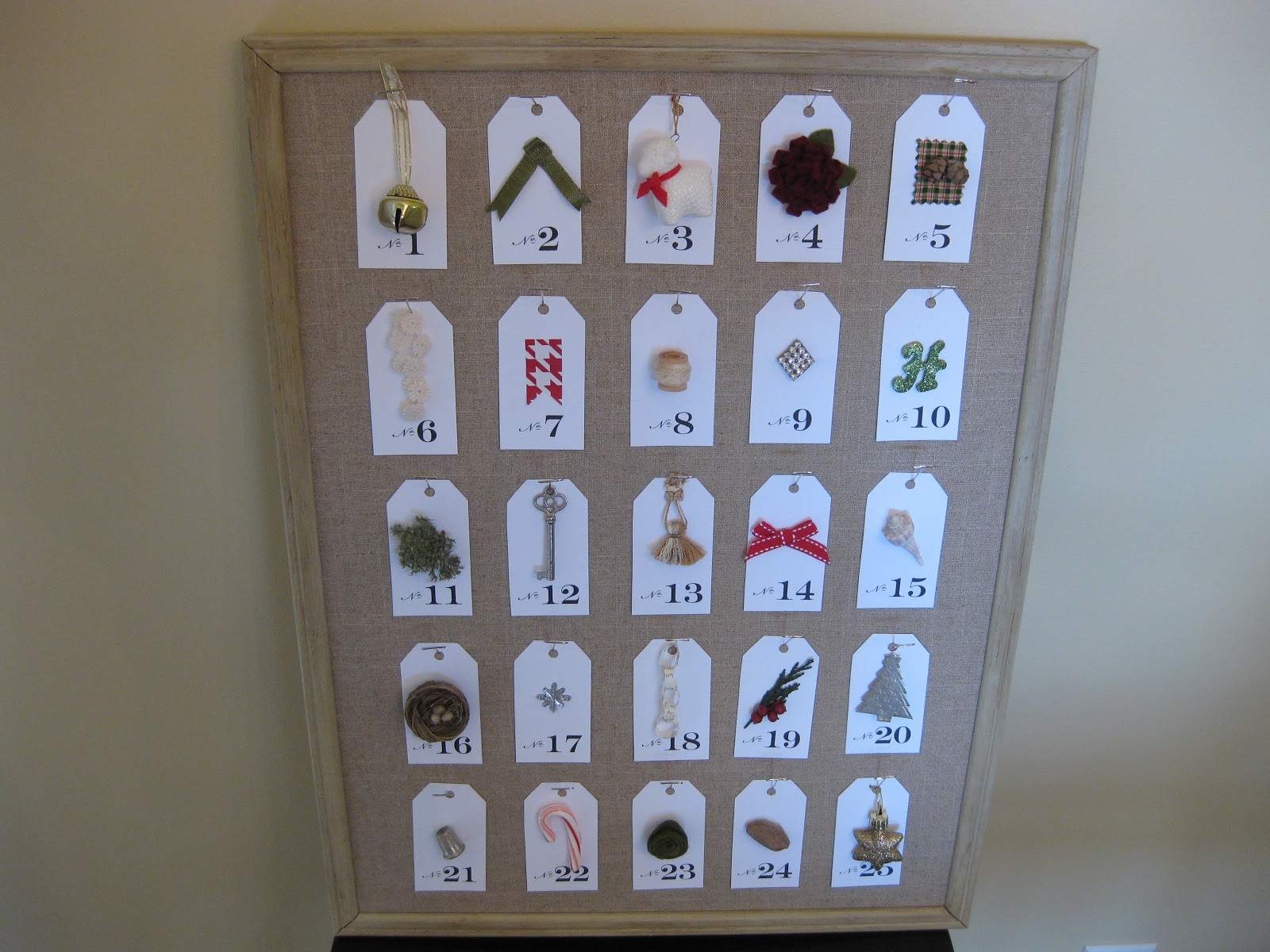 empty nest full life make your own advent calendar. Black Bedroom Furniture Sets. Home Design Ideas