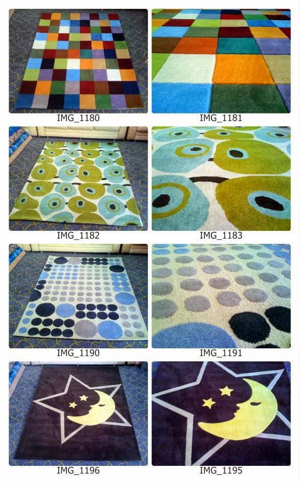 Karpet Handtufted STOCK Harga Murah