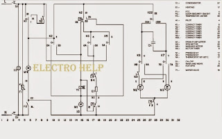 BOSCH WFB1005 WFB1005BY WASHING MACHINE WIRING DIAGRAM and