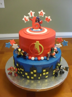 The Avengers Cake Ideas